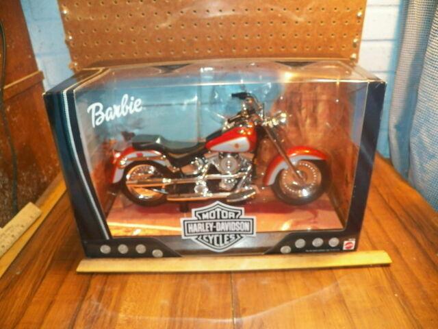 1999 Barbie S Harley Davidson Fat Boy Motorcycle For Sale Online Ebay