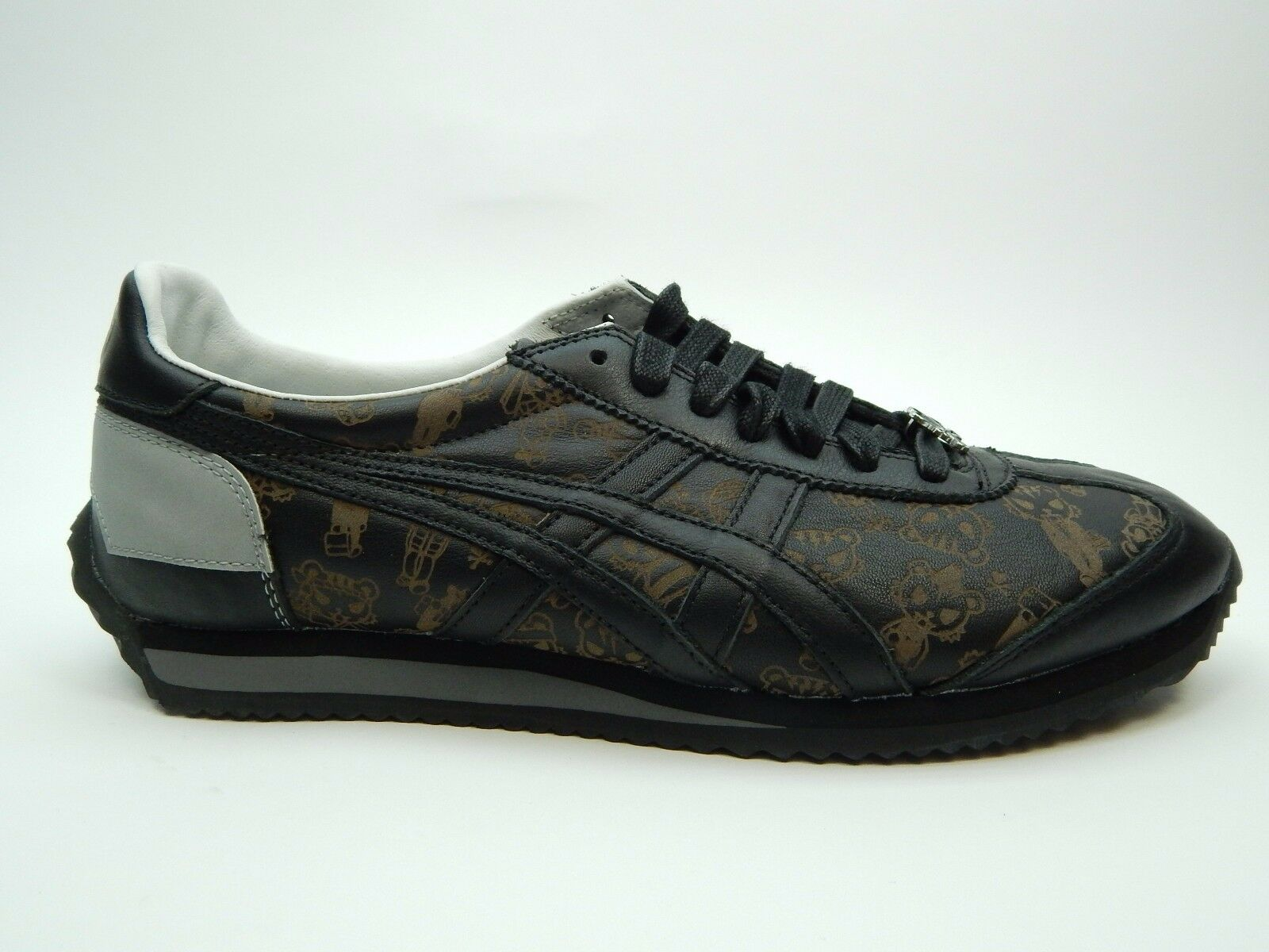 ONITSUKA TIGER BLACK BLACK WOMEN SHOES SIZE 9.5 TO 11.5 Wild casual shoes
