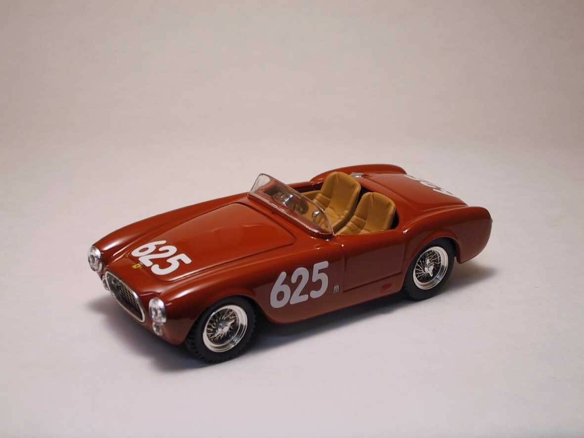 FERRARI 250 S  625 RETIrosso MM 1952 Marzotto Ternant 1 43 MODEL 0101