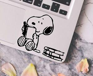 Snoopy-Reading-Books-Macbook-Laptop-Car-Wall-Vinyl-Glitter-Decal-Sticker-152