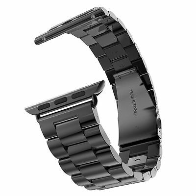 Replacement Stainless Steel Link Bracelet Strap Band for Apple Watch 38MM/42MM