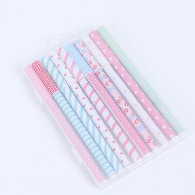 10 Pcs Multi Colors Gel Ink Pen Cute Korean Cartoon Pin Type kawaii stationery