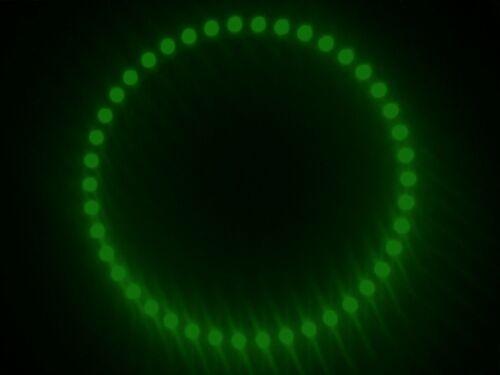 MODULO 42 LED A CERCHIO RING 130MM 24V LUCE VERDE GREEN