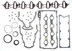 1999-2001 Chevrolet GMC 4.8L 4.8 LR4 LS Vortec Engine Full Gasket Set Rings Bearings FITS