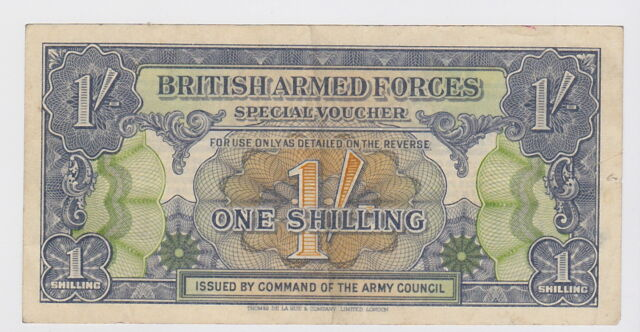 Great Britain Armed Forces - 1 Shilling 1946