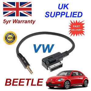Original-Vw-Escarabajo-MDI-000051446d-Jack-de-3-5mm-mp3-ipod-en-coche-cable