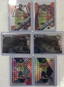 Karl-Anthony-Towns-2019-20-Panini-Mosaic-Lot-6-Total-Cards-Will-To-Win-47-99