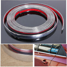 25mm x 3M Car Styling Chrome Moulding Trim Strip Decor Adhesive Strip cover Tape