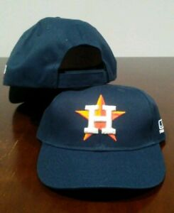 62340d56887 New Adult Adjustable Twill Houston Astros Home Navy Blue MLB Cap Hat ...