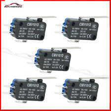 10 Pcs Long Arm Micro Limit Switch Subminiature Spdt Snap Action 3d Printer Cnc