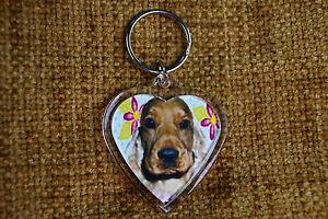 Cocker-Spaniel-Fawn-Dog-Keyring-Dog-Key-Ring-Birthday-Xmas-Gift-Stocking-Filler
