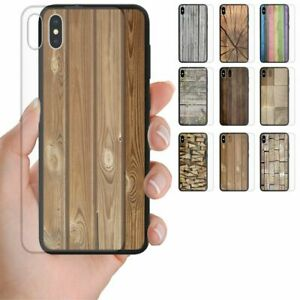 For-OPPO-Series-Wood-Timber-Print-Tempered-Glass-Back-Case-Mobile-Phone-Cover