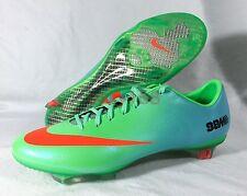 eec38217c item 5 New Nike Mercurial Vapor IX FG Sz 11 Soccer 45 Cleats Lime Crimson  555605-380 -New Nike Mercurial Vapor IX FG Sz 11 Soccer 45 Cleats Lime  Crimson ...