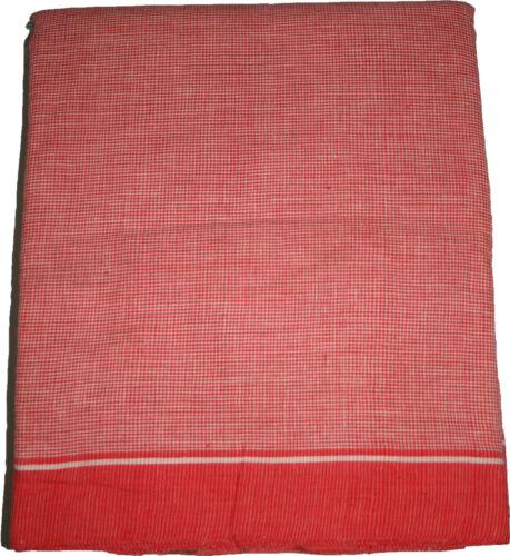 Traditional India Sacred Scarf Stole Gamcha AngochaToliaTowel Handloom Cotton