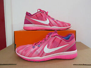 online retailer 0d793 9f31b Details about nike womens free 5.0 TR FIT 5 PRT running trainers 704695 601  sneakers CLEARANCE
