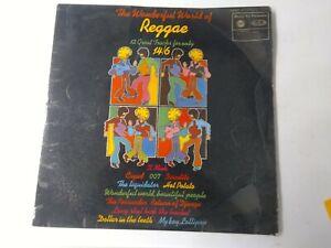 The Wonderful World Of Reggae-Various Artists Vinyl LP 1970 UK COPY