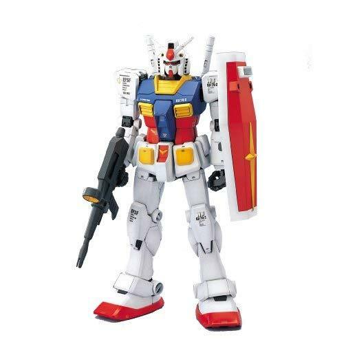 Bandai Hobby RX-78-2 Gundam Mobile Suit Gundam Perfect Grade Action Figure, Scal