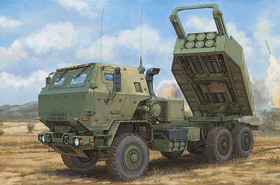LANCE-ROQUETTES US. A HAUTE MOBILITE (HIMARS) M142 - KIT TRUMPETER 1 35 n° 01041