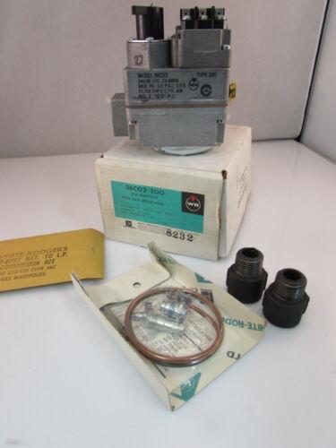 White-Rodgers Furnace Gas Valve 36C03-200 36C03 Type 200 NAT//LP