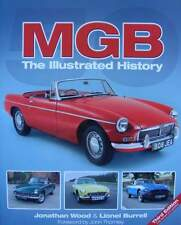 BOEK/LIVRE/BOOK : MGB THE ILLUSTRATED HISTORY (oldtimer,ancetre,cabrio)