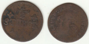 Cu 1/2 Stüber Düsseldorf Jülich-Kleve-Berg Karl Theodor ca. 4,55 g stampsdealer