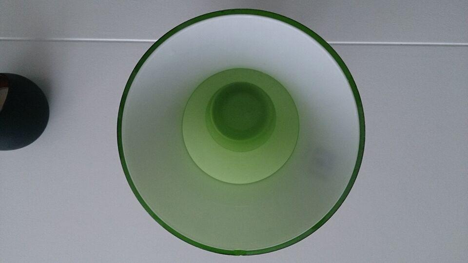 Vase, Glasvase, Broste