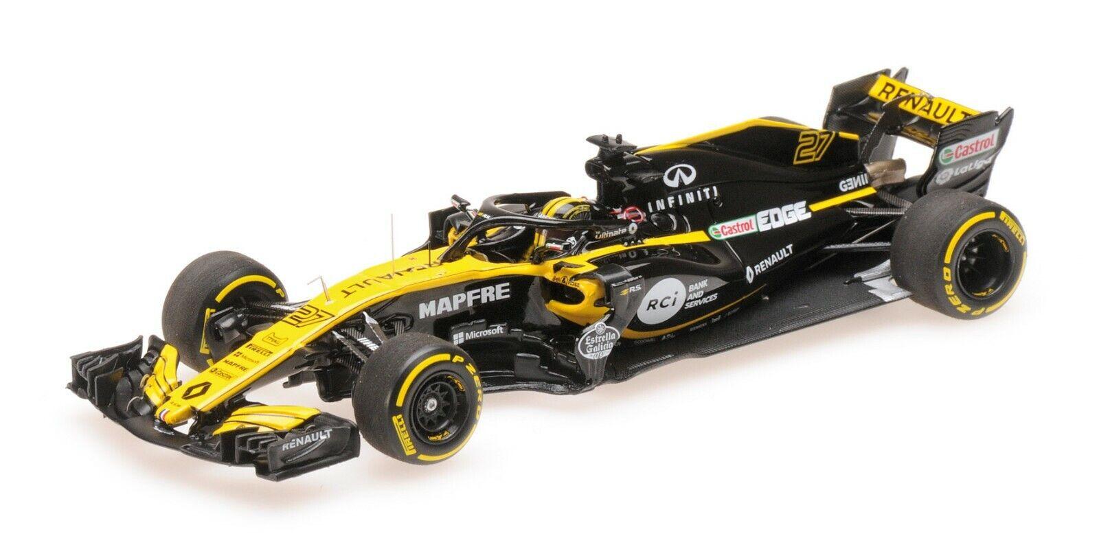 Minichamps F1 Renault R.S.18 2018 Nico Hülkenberg 1 43