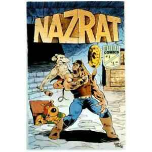 Nazrat #1 in Very Fine condition. Imperial comics [*wm]