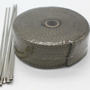 Titanium-Lava-Exhaust-Wrap-Header-Pipe-Heat-Insulation-Thermal-Tape-Roll-2-034-x-50-039