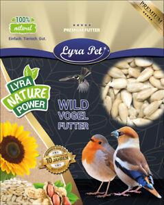 25 kg Sonnenblumenkerne geschält Vogelfutter Wildvögel LyraPet® HK Deutschland
