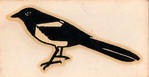 Burns Magpie Original Guitare Poupée Logo-afficher Le Titre D'origine
