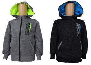 Kinder-Jacke-Neu-Jungen-Sweatjacke-Bis-152-Kinder-Fleecejacke-Jungen-Jacke-TOP