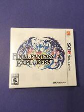 Final Fantasy Explorers (3DS) NEW