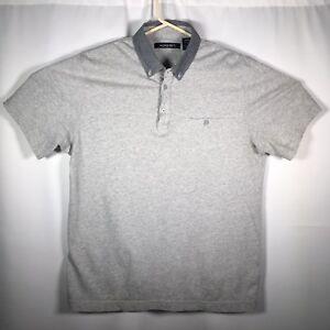 Axist-Men-s-Medium-Gray-Short-Sleeve-Polo-Shirt-Front-Pocket