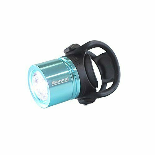 Bianchi USB compact front light B JPP0201101CK000 Celeste