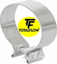 2.5 430 Stainless Steel Torca AccuSeal Heavy Duty Exhaust Band Clamp