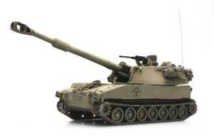 Artitec 6870157 - 1/87 HO Scale M109 A2 Self Propelled Howitzer US Desert Storm