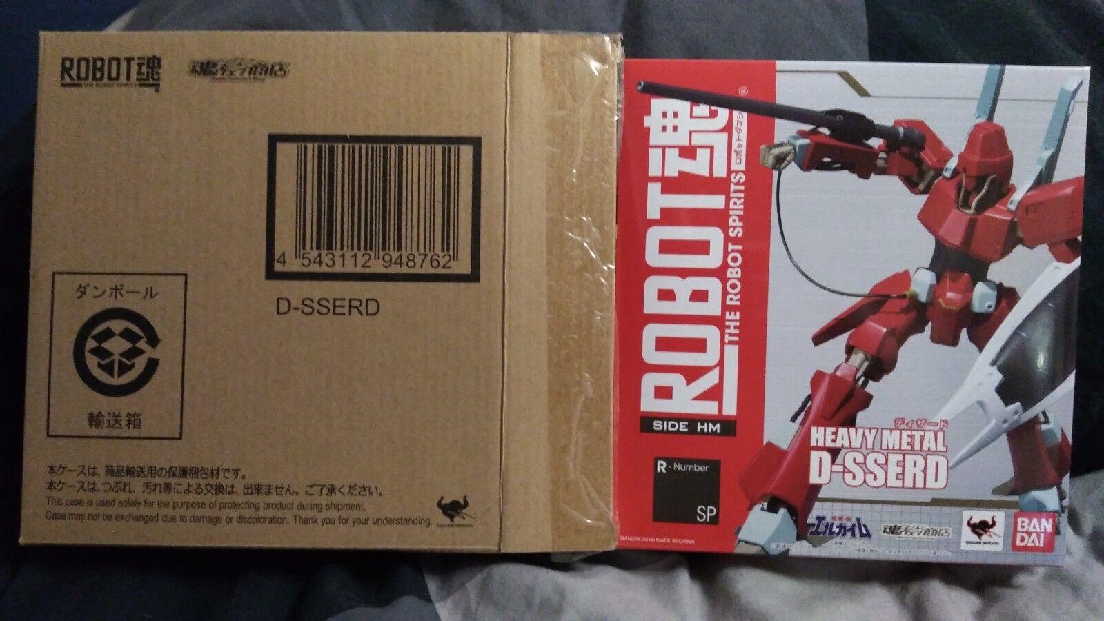 garantizado Robot Spirits D-sserd totalmente nuevo en caja de de de edición limitada de metal pesado L-gaim  venta de ofertas
