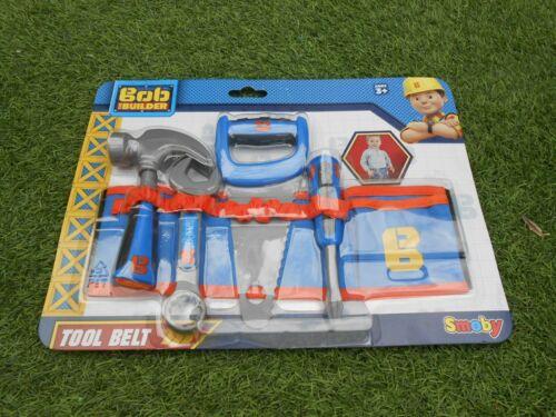 NEUF-Ceinture à outils avec outils-Bob The Builder Neuf /& Scellé par Smoby