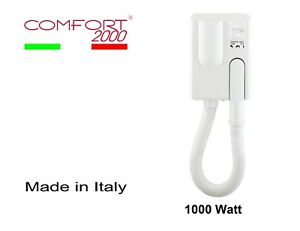 Wall-hair-dryer-for-hotels-phon-bathrooms-with-timer-COMFORT-2000