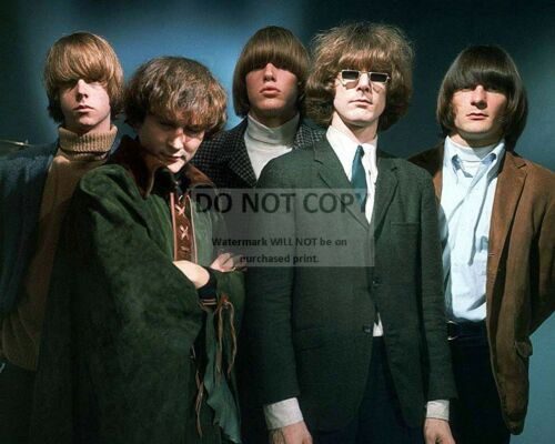 "AB-121 8X10 PUBLICITY PHOTO /""THE BYRDS/"" AMERICAN ROCK BAND"