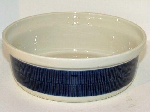 Porcelæn, Blå Koka  Lille rund ovnfast skål, Blå