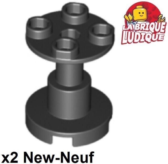 Lego 2x Support holder pillar column table 2x2x2 Stand black//black 3940b 3940