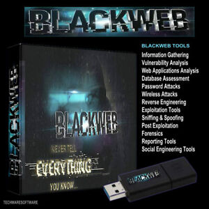 BLACKWEB-32GB-USB-Password-Wifi-Forensics-Hacking-Exploitation-Web-Tools