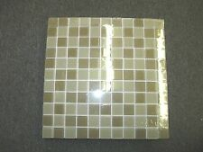 "MS International Mocha Cream Mosaic 12"" x 12"" Glass Floor and Wall Tile"