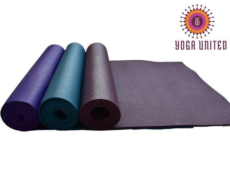 6mm Yoga Mats --vak 6 --gemannengde kleuren
