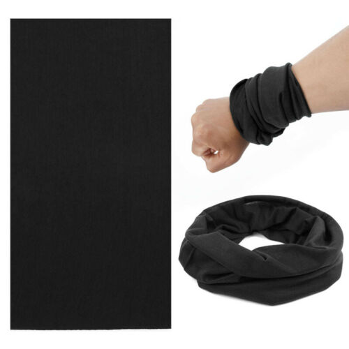 Bandana Neck Tube Sports Solid Scarf Outdoor Headwear Fitness Sun Protector
