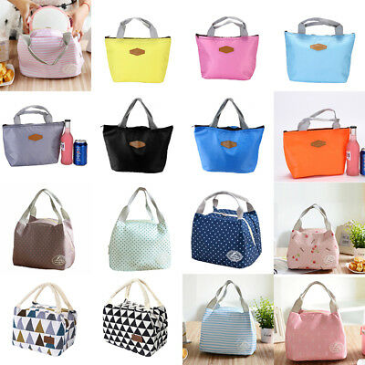 UK Children Kids Lunch Bag Insulated Cool Bag Portable Picnic Bag Lunchbox