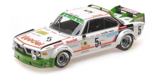 BMW 3.0 CSL WINNER 24HR SPA 1976 #5 1/18 DIECAST MODEL BY MINICHAMPS 155762505