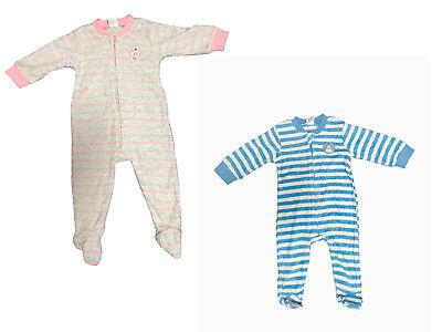 Warmer Baby langarm Frottier Schlafanzug Mädchen Jungen Strampler Pyjama Kinder